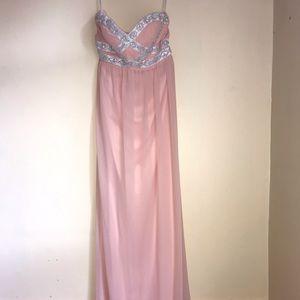 Pink/Peach Prom Dress